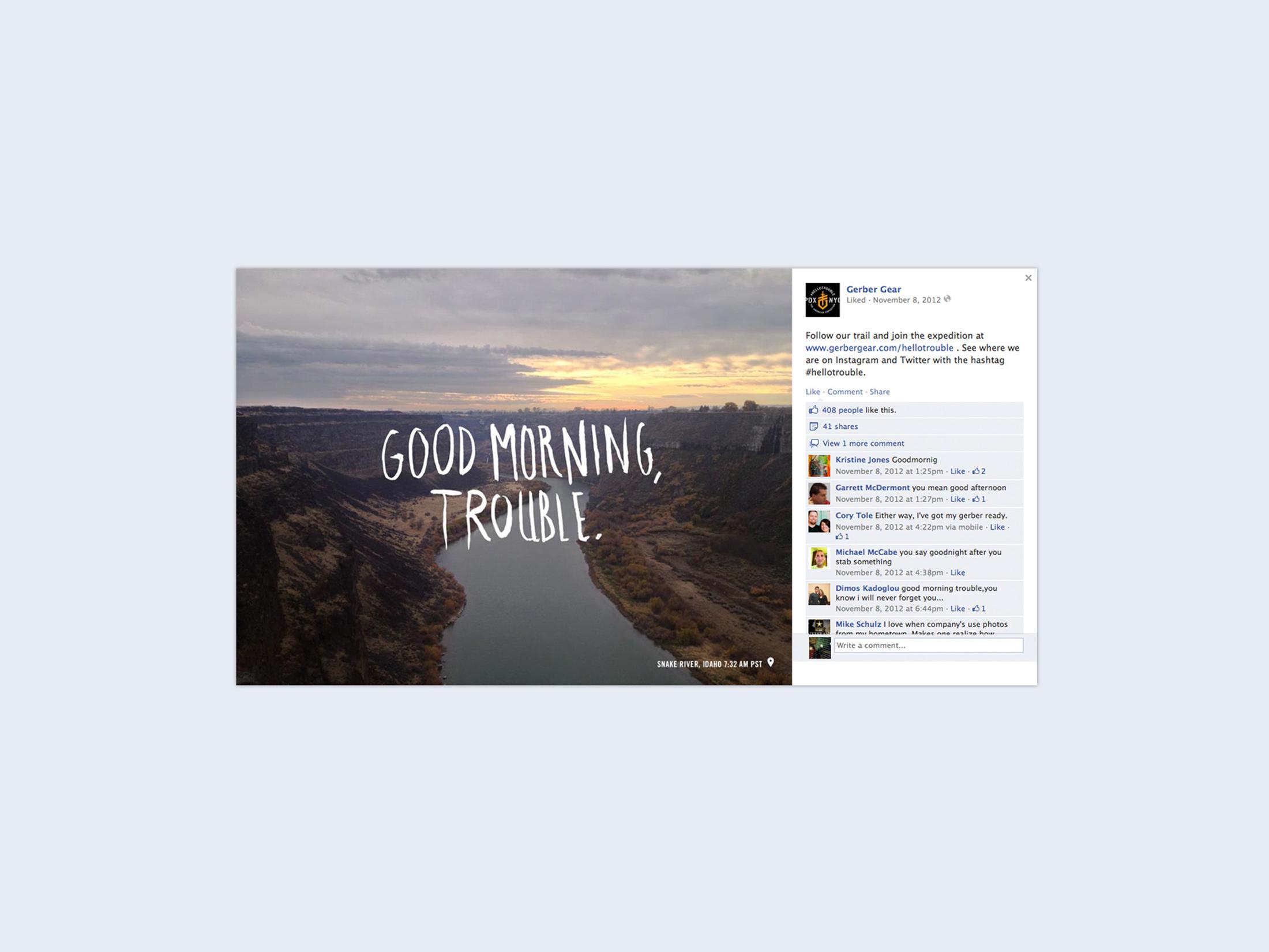 Gerber 2013 Facebook